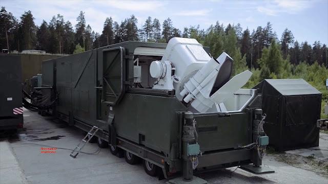 комплекса Пересвет лазерный  А-60 РД0600 Peresvet LASER RUSSIA Tactical High Energy Laser