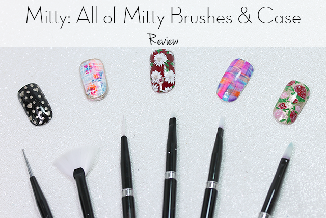 Magically Polished Nail Art Blog Mitty All Of Mitty Brushes