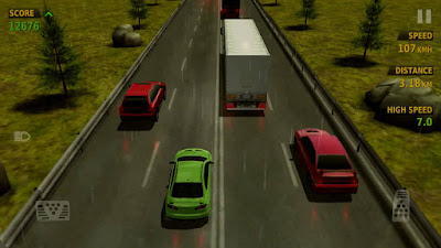 Traffic Racer Game Features