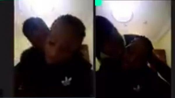 Student caught having S3x with her boyfriend during online class (Video)
