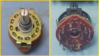 Gambar Rotary Switch untuk Adaptor