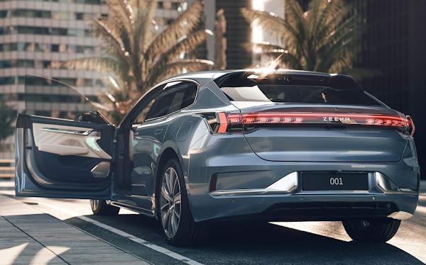 Geely lança o Zeekr 001: novo elétrico para enfrentar a Tesla