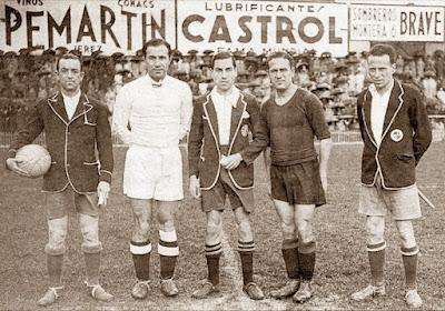 Quincoces y Pedrol, en un clásico del Madrid-Barcelona de 1936