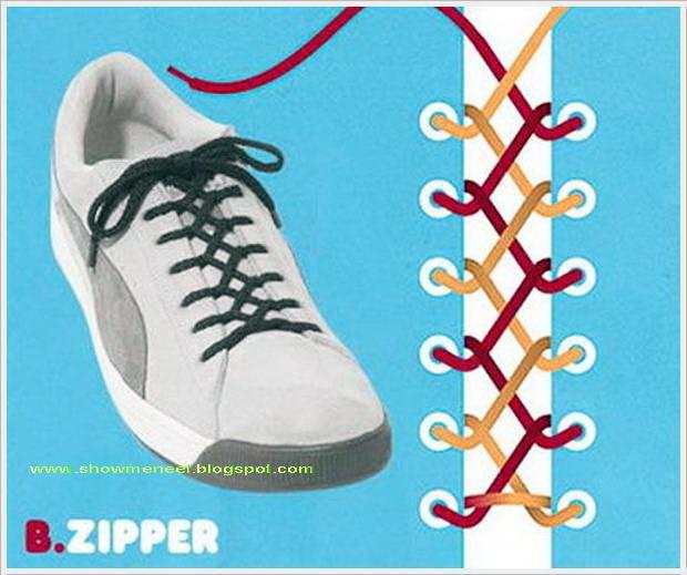 Showmeneel: Tie Various Styles of Shoelace