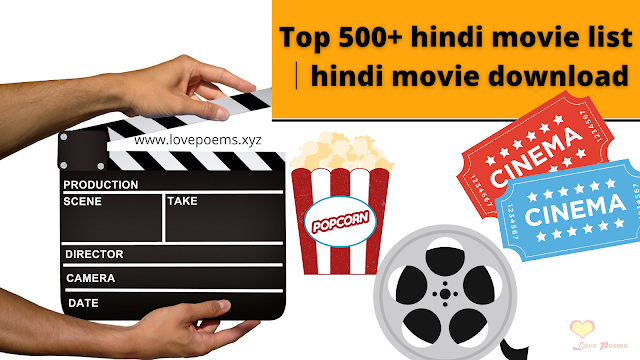Top 500+ hindi movie list│hindi movie download│hindi hd movie