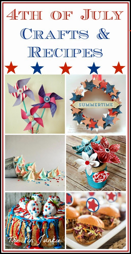 4th of July Crafts and Recipes