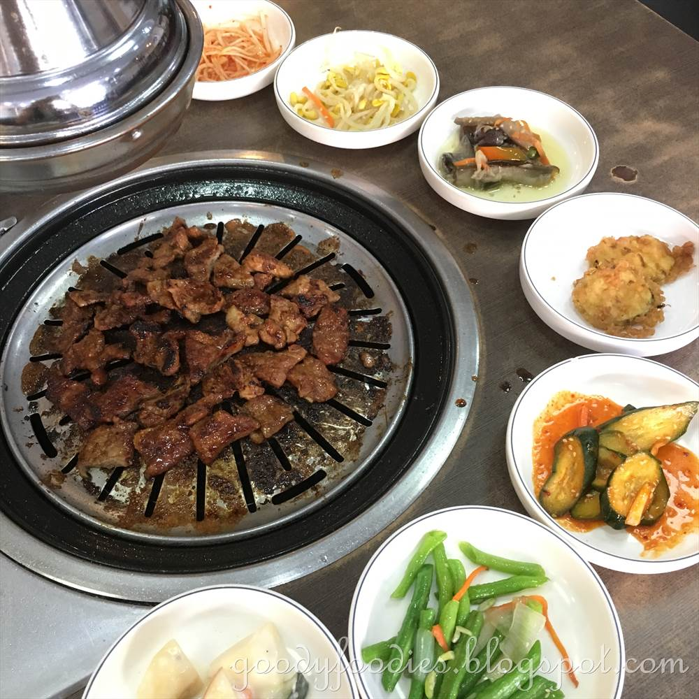 GoodyFoodies: Nak Won Korean BBQ Restaurant, Taman Desa, KL