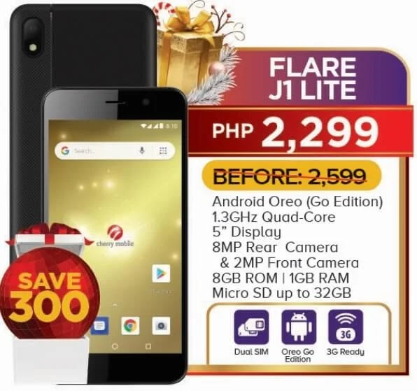 Cherry Mobile Flare J1 Lite Now Only Php2,299