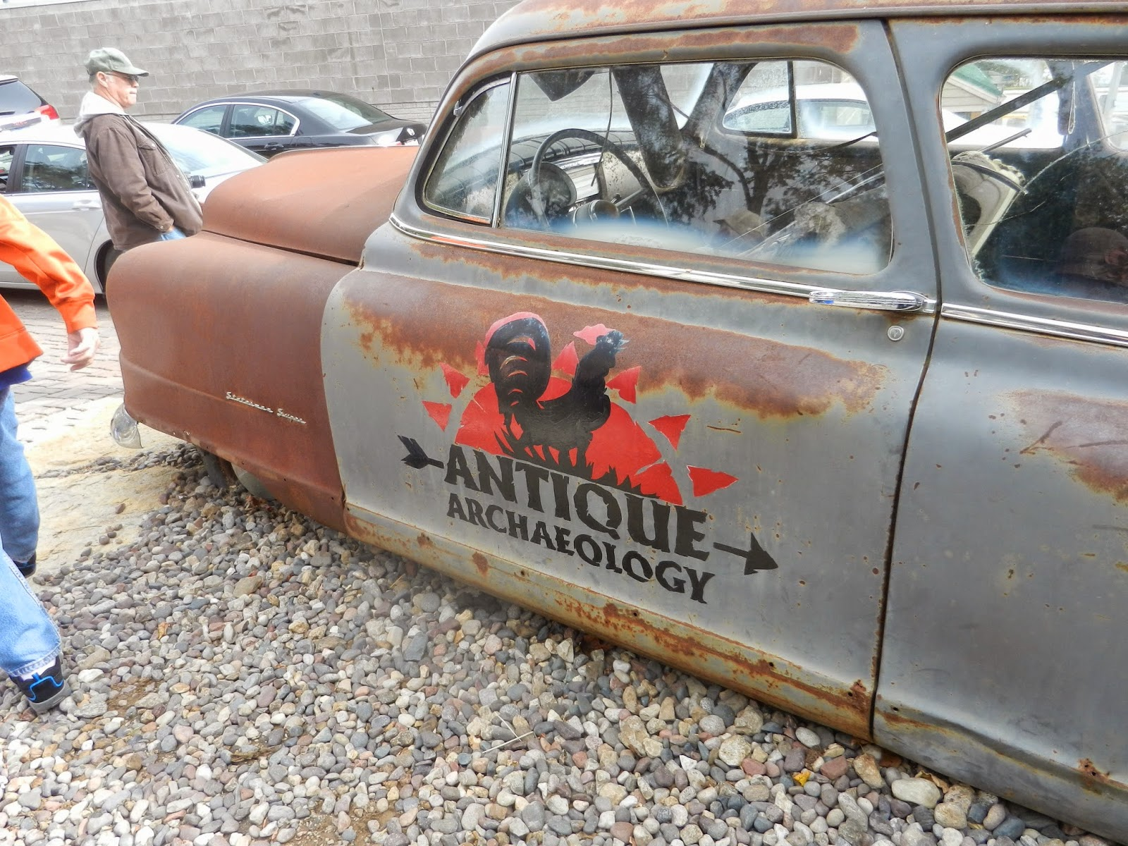 antique archeology american pickers shop