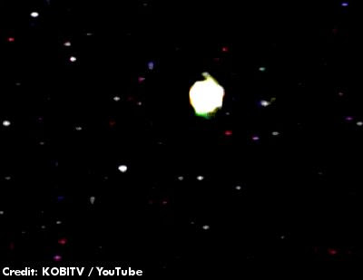 UFO Sighting In Southern Oregon 2-15-13