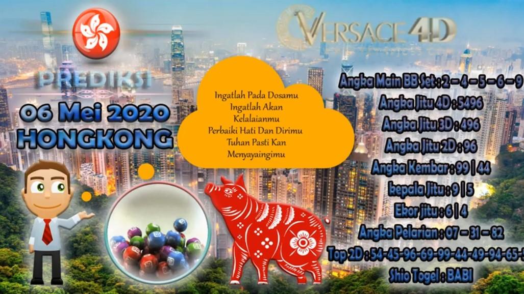 Prediksi Togel Hongkong 06 Mei 2020 - Prediksi Versace4D