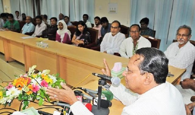 ক্ষমতা জন্য 'উম্মাদ' খালেদা জিয়া - হাসানুল হক ইনু