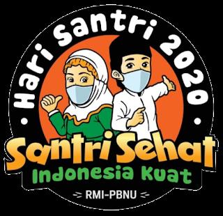 Logo Hari Santri 2020 Versi PBNU