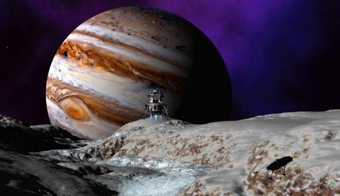 Ilmuwan Yakin Bahwa Bulan Es Jupiter Adalah Rumah Bagi Kehidupan 'Alien'