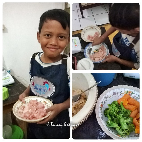 Menu Masakan Rumahan, Nugget Ayam Pelangi dan Lapis Ayam