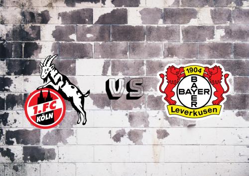Köln vs Bayer Leverkusen  Resumen