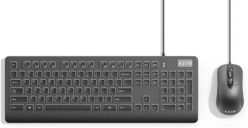Review AZIO KM535 Computer Keyboard and Mouse Combo