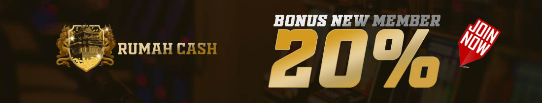 BONUS WELCOME NEW MEMBER 20% BONUS MAX RP 5.000.000 !!