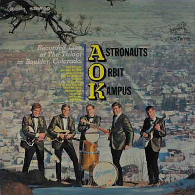 The Astronauts Orbit Campus - Live (LP) (1964)