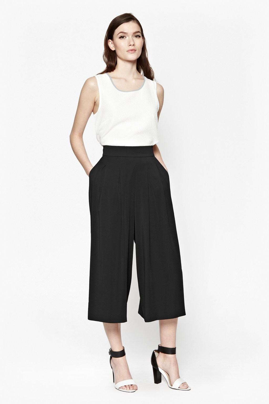 Great Plains Night & Day Pleated Culottes