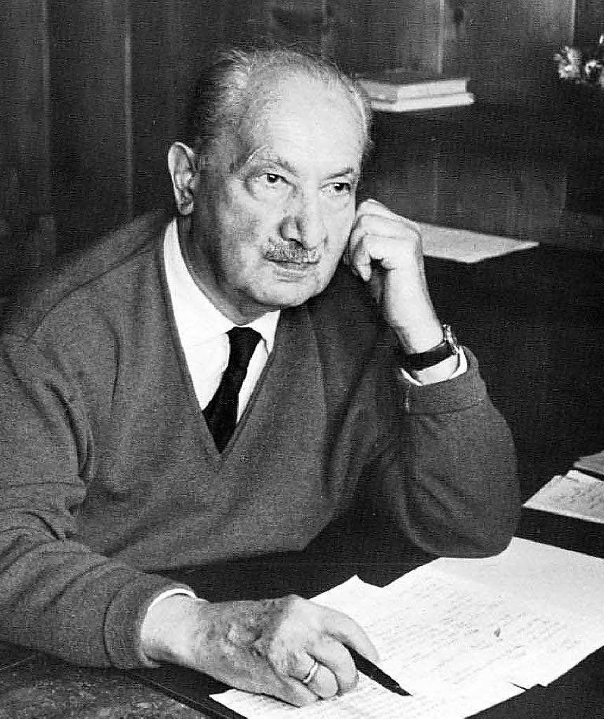 El Pensamiento De Martin Heidegger En 50 Frases