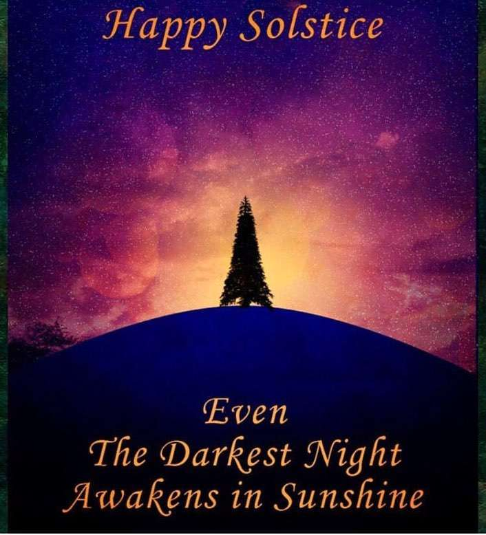 Winter Solstice Wishes For Facebook
