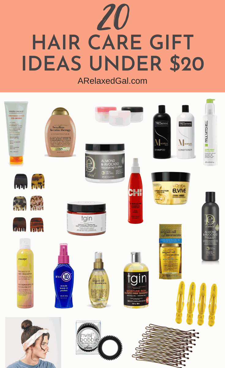 Wonderful Hair Care Gift Ideas Under $20 | A Relaxed Gal