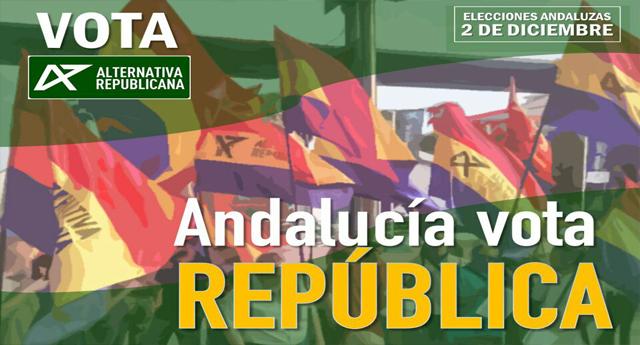 Alternativa Republicana presenta candidatura a las elecciones andaluzas