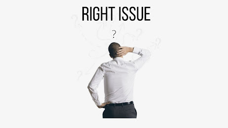 right issue, rumus right issue, fungsi right issue