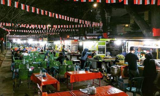 Wisata kuliner Pantai Losari