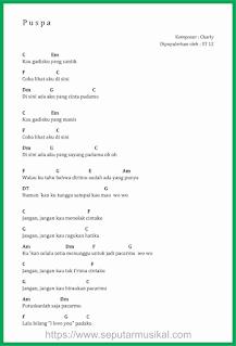 chord lagu puspa band st 12