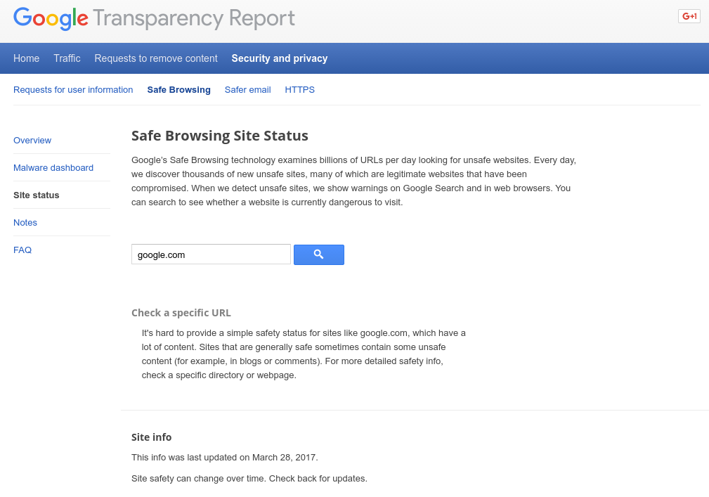 Safe Site Checker >> Google Online Security Blog Updates To The Google Safe Browsing S