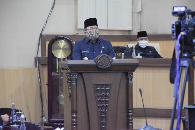 Bupati Sampaikan Lima Raperda Inisiatif dan DPRD Usulkan Raperda Prakarsa Kabupaten Muba