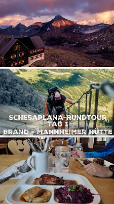 Schesaplana Rundtour Tag 1 | Brand – Oberzalimhütte – Mannheimer Hütte | Hüttentour Rätikon 22