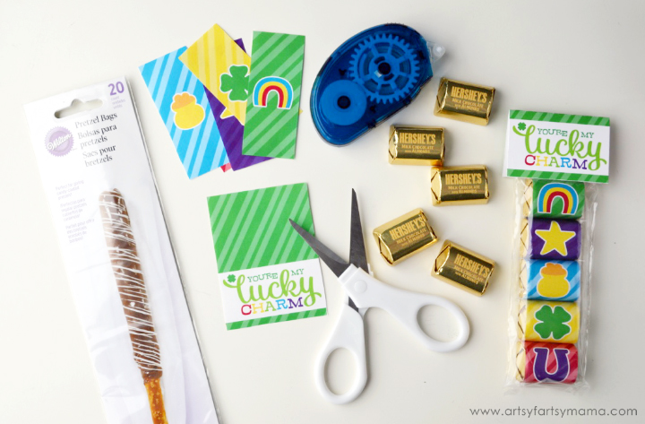 Lucky Charm Treat Bags with Free Printables