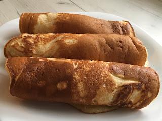 Drożdżowe pancakes