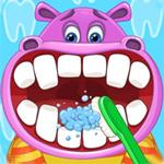 لعبة تنظيف اسنان الحيوانات