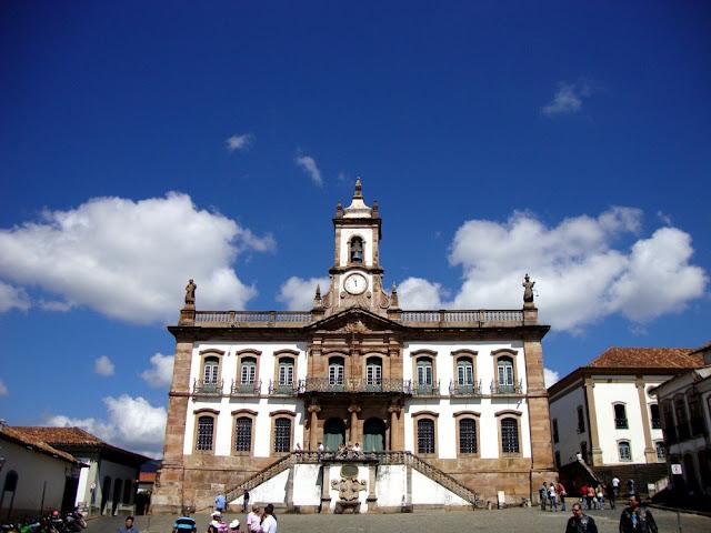 Ouro Preto - Museu da Inconfidência,  Praça Tiradentes