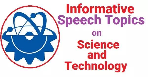 food speech topics