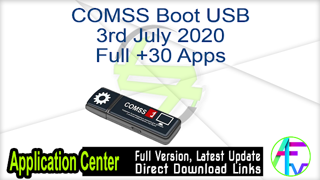 COMSS Boot USB 3rd July 2020 Full +30 Apps