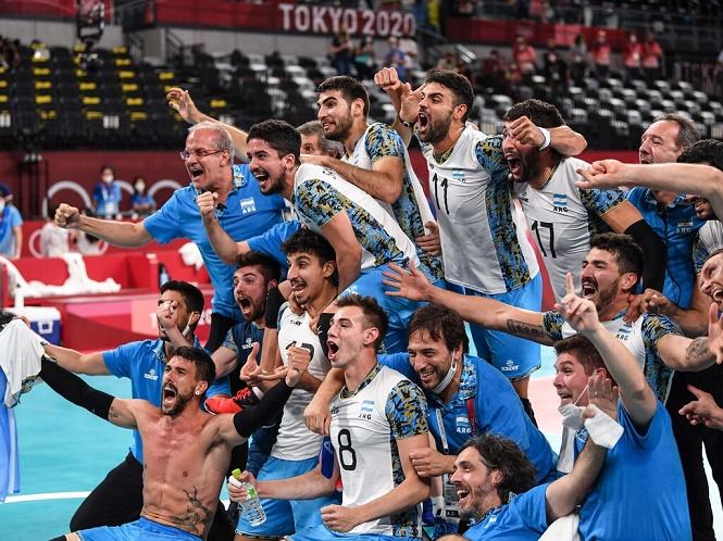 Histórico bronce del vóley argentino en los juegos de Tokio
