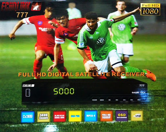 echqlink 777 HD Receiver Powervu Key Software