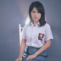 foto ashira zamita pakai seragam sekolah sma