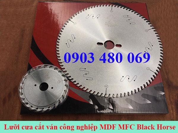 Lưỡi cưa cắt ván MDF MFC Black horse 300x96T