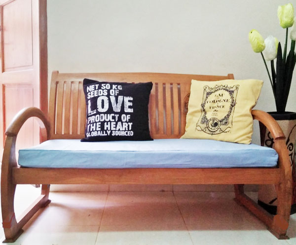 diy boxy cushion cover