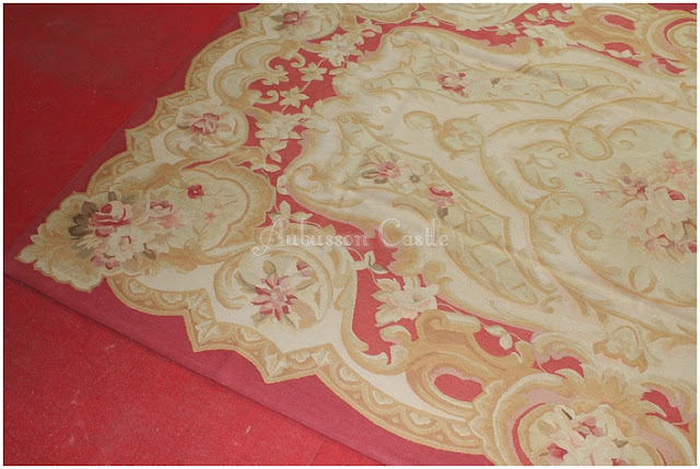 French Aubusson Area Rugs
