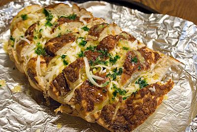 Pull-Apart Cheesy Garlic Bread