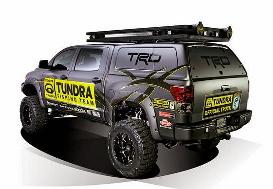 2013 Toyota Tundra Ultimate Fishing Concept