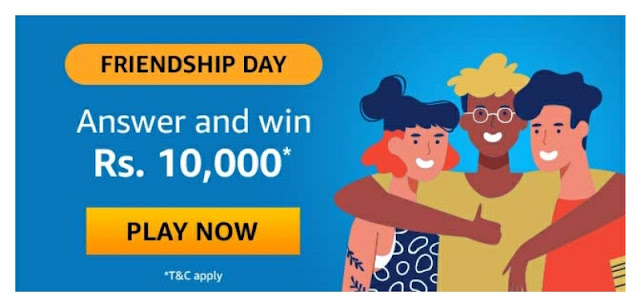 Friendship Day answer and win
