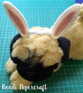 Bondi Papercraft - bunny ears on